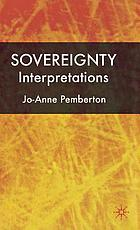 Sovereignty : interpretations