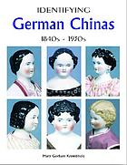 Identifying German Chinas : 1840s - 1930s