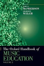 The Oxford handbook of music education