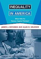 Inequality in America : what role for human capital policies?