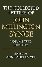 The collected letters of John Millington Synge