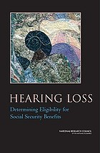 Hearing loss : determining eligibility for Social Security benefits