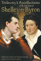 The last days of Byron and Shelley