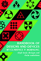 Hornung's handbook of designs and devices : 1836 basic designs and their variations by one of America's foremost industrial and graphic designers.