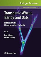 Transgenic wheat, barley and oats : production and characterization protocols