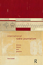 International radio journalism : history, theory and practice