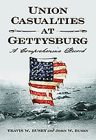 Union casualties at Gettysburg : a comprehensive record