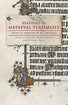 Readings in medieval textuality.