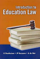 Introduction to education law