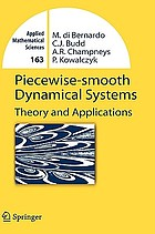 Piecewise-smooth dynamical systems : theory and applications
