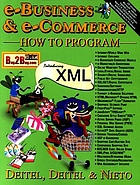 E-business & e-commerce : how to program