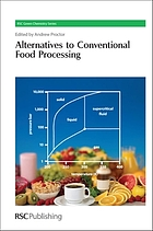 Alternatives to Conventional Food Processing.