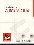 Introduction to AutoCAD R.14