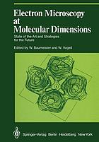 Electron Microscopy at Molecular Dimensions : State of the Art and Strategies for the Future