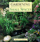 Gardening in small spaces.