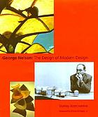 George Nelson : the design of modern design