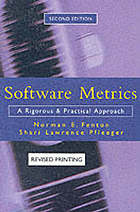 Software metrics : a rigorous and practical approach