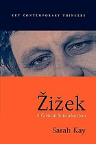 Zižek : a critical introduction