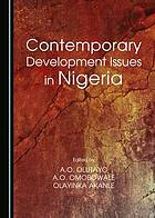 Contemporary development issues in Nigeria