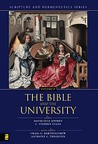 The Bible in the university
