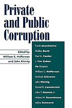 Private and public corruption