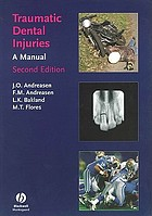 Traumatic dental injuries : a manual