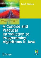 Concise and practical introduction to programming algorithms in java.