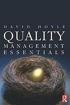 Quality : management essentials
