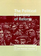 The Political economy of reform