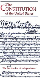 The Constitution of the United States and the Declaration of Independence.