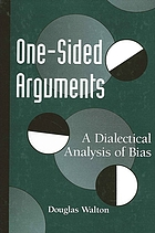 One-sided arguments : a dialectical analysis of bias