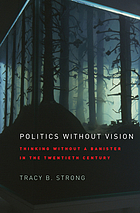 Politics without vision : thinking without a banister in the twentieth century