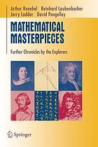 Mathematical masterpieces : further chronicles by the explorers