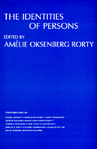 The identities of persons