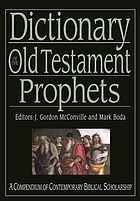 Dictionary of the Old Testament : prophets