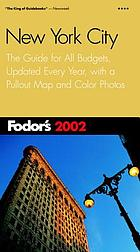 Fodor's 2002 New York City