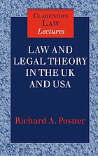 Law and legal theory in England and America