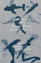 Critical sermons of the Zen tradition : Hisamatsu's talks on Linji