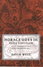 Horace Odes III