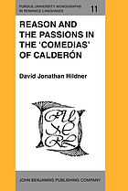 Reason and the passions in the comedias of Calderón