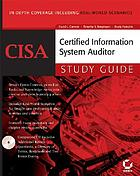 CISA - Certified Information Systems Auditor : study guide