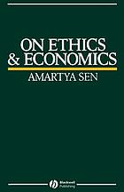On ethics and economics