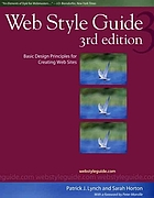 Web style guide : basic design principles for creating Web sites