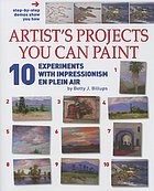 10 experiments with Impressionism en plein air