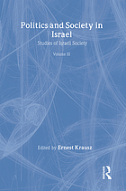 Politics and society in Israel