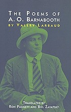 The poems of A.O. Barnabooth