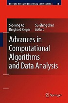 Advances in Computational Algorithms and Data Analysis.