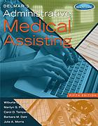 Book cover art for Delmar's Administrative Medical Assisting