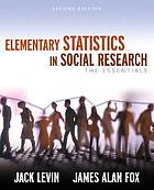 Elementary statistics in social research : the essentials
