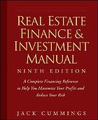 Real estate finance & investment manual